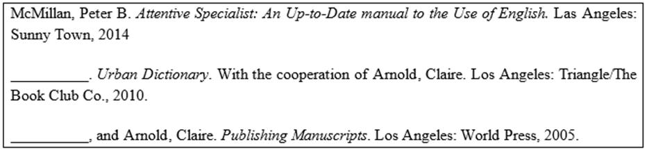 dissertation formatting